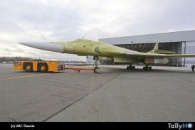 Nueva versión modernizada del Tupolev Tu-160 fue presentada en Rusia