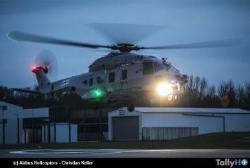 Primer vuelo del segundo prototipo del NH90 Sea Lion