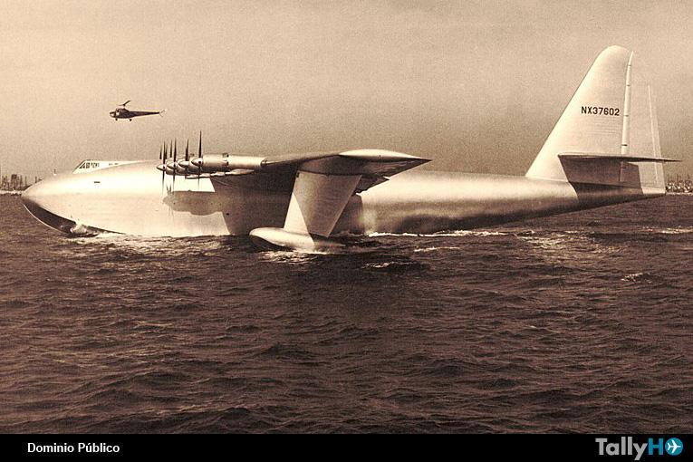 A 70 años del primer y único vuelo del Hughes H-4 Hercules