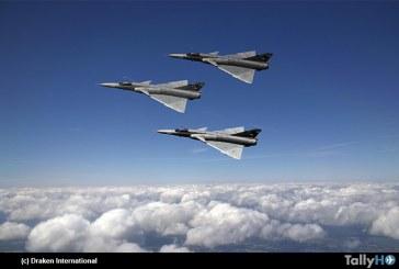 Draken International adquiere 12 Cheetah equipados con radar para su flota de aviones agresores
