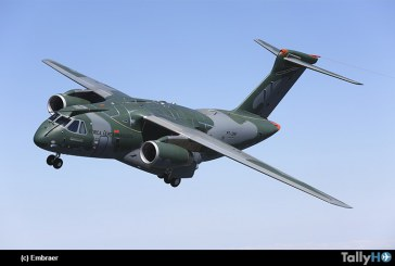 Avión Embraer KC-390 alcanza nivel operacional inicial