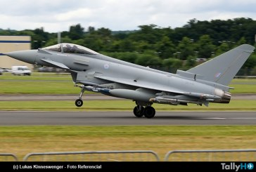 Fuerza Aérea de Qatar compra 24 Typhoon