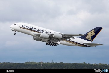 Levanta el vuelo el nuevo A380 de Singapore Airlines