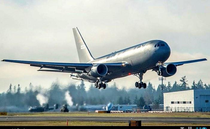 Primer vuelo del Boeing KC-46A para la USAF