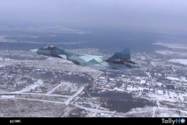 Primer vuelo del Sukhoi T-50 con motor de segunda etapa