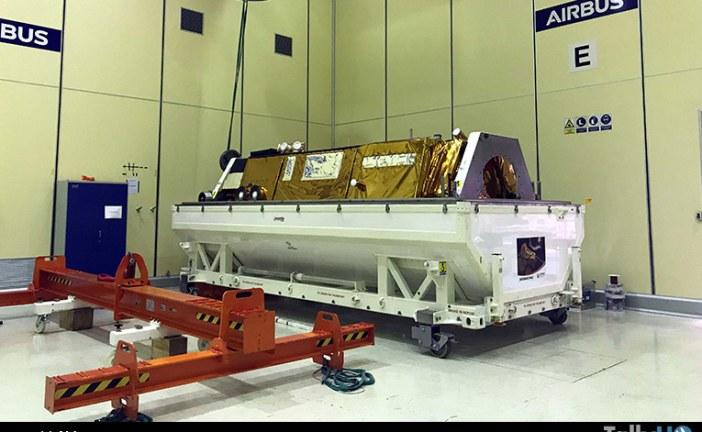 Satélite de observación de la tierra PAZ listo para su viaje al espacio
