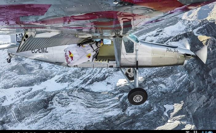 Espectacular maniobra «una puerta en los cielos» de los Soul Flyers de Red Bull