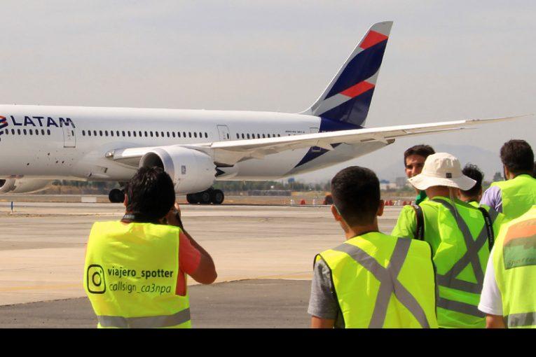 Jornada de Spotting en Aeropuerto Arturo Merino Benítez