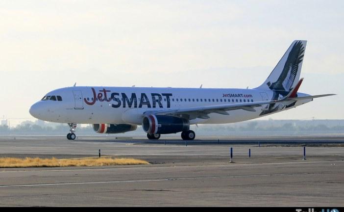Nueva ruta Iquique – Concepción anunció JetSmart