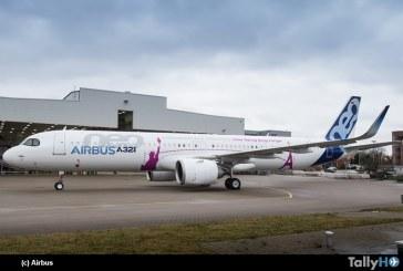 Airbus presentó el primer A321neo ACF