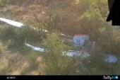 Se estrella planeador en sector de Las Vizcachas piloto fue rescatado por la FACH
