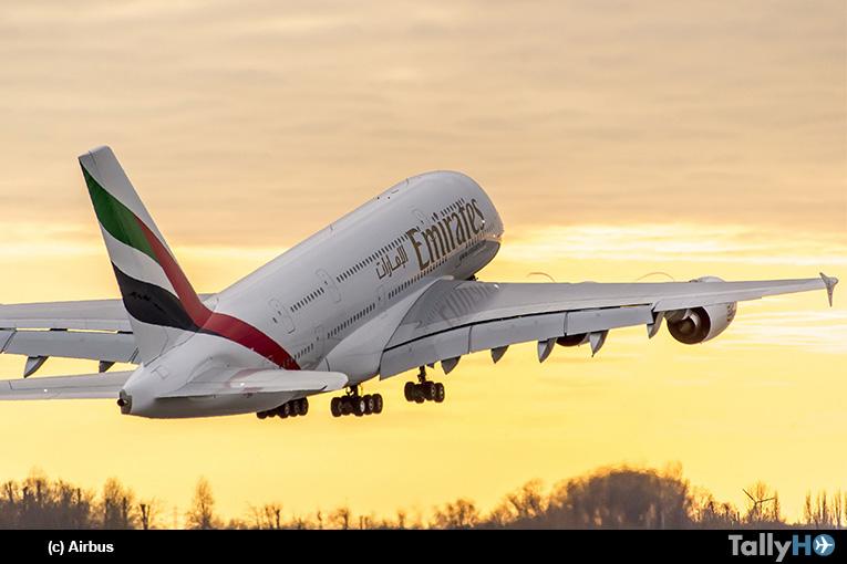 Emirates firma compromiso para hacer crecer su flota emblemática de Airbus A380
