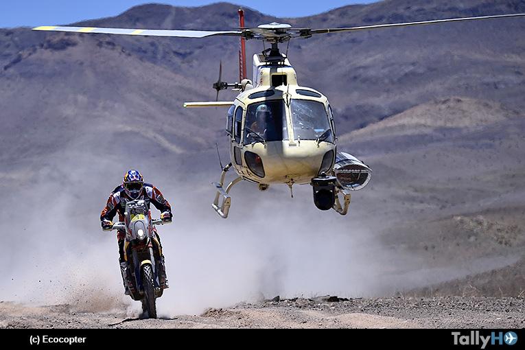 Cobertura Aérea del Rally Dakar 2018 de Ecocopter