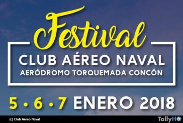 Se viene Festival Club Aéreo Naval en Concon