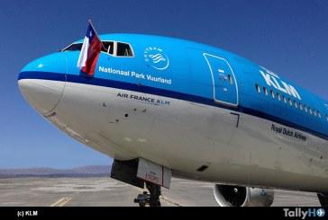 Ahora KLM ofrece un vuelo diario a Ámsterdam desde Santiago de Chile