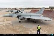 Airbus entregó  primeros dos aviones Eurofighter con nueva configuración al Ejército del Aire de España