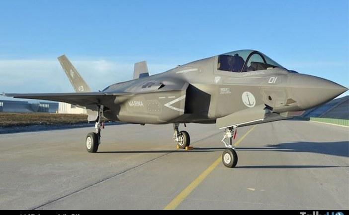 Primer F-35B Lighting II construido en Italia fue entregado a la Marina de ese país