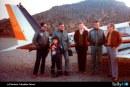 35 años del histórico vuelo del Club Aéreo de Santiago a la Antártica