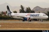 En solo seis meses JetSMART logra transportar a 605 mil pasajeros