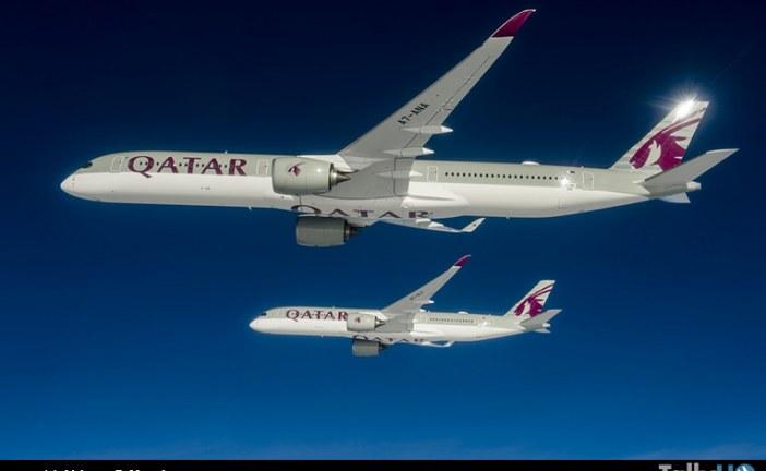 Primer A350-1000 entregó Airbus al cliente de lanzamiento Qatar Airways
