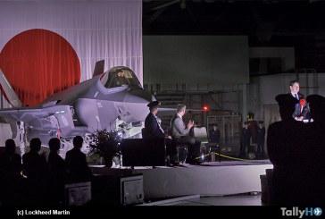 Fuerza de Autodefensa del Aire de Japón recibió el primer F-35 en la Base Aérea Misawa