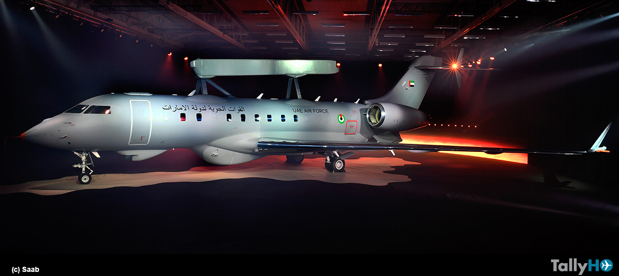 Saab presentó nuevo avión GlobalEye de Alerta Temprana y Control Aerotransportado