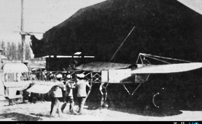105 años del primer vuelo militar en Chile