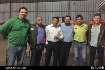 Gobernador de la Provincia de Limarí se reúne con Club Aéreo de Ovalle