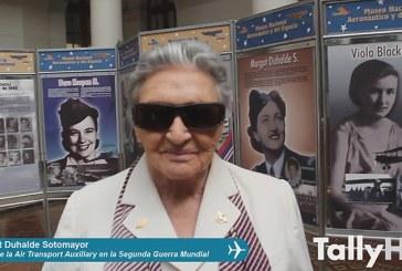Entrevista a Margot Duhalde Sotomayor piloto de la Air Transport Auxiliary en la Segunda Guerra Mundial