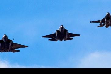 Masivo arribo de aeronaves USAF de Estados Unidos a FIDAE