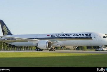 Boeing entregó el primer 787-10 a Singapore Airlines