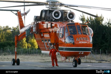 Helicóptero Sikorsky S-64 Erickson-Skycrane estará presente en FIDAE 2018