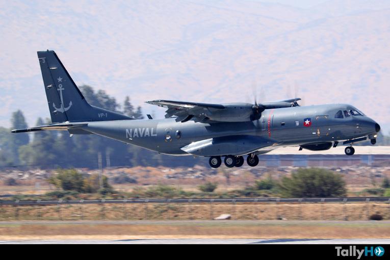 Ministro de Defensa realizó sobrevuelo en zona norte en Airbus C295 en el marco de Plan Frontera Segura