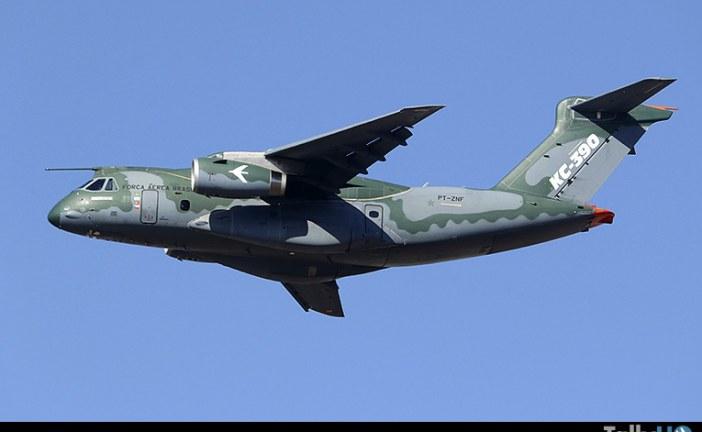 Embraer KC-390 próximo a ser entregado a la FAB