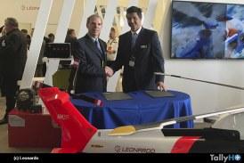 Leonardo Helicopters y Aerocardal firman acuerdo para mantenimiento de Helicópteros en Chile
