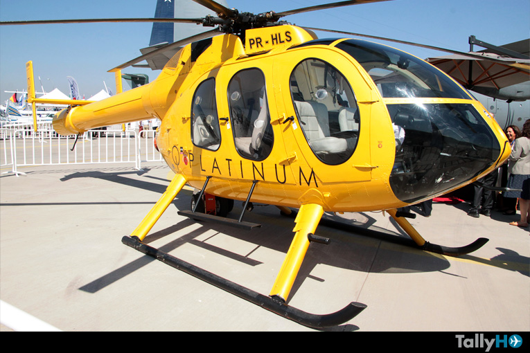 Helicóptero MD-600N en FIDAE 2018