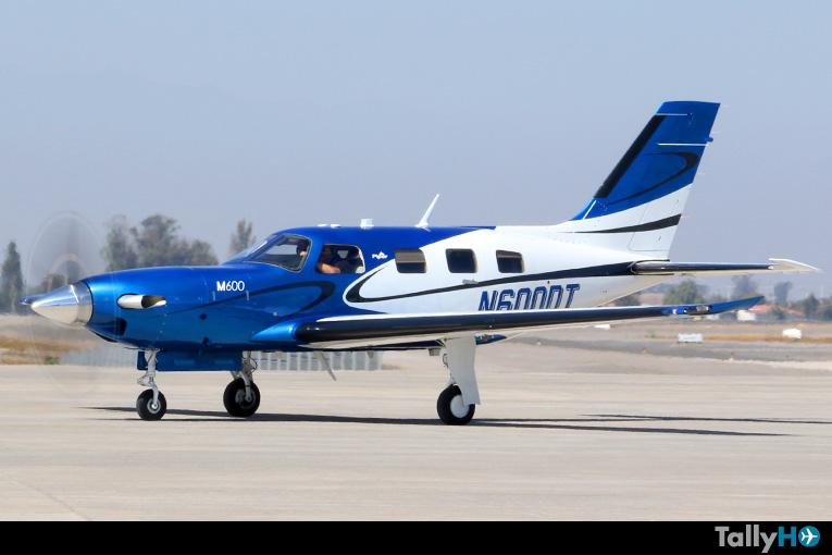 Debut del Piper PA-46 M600 en FIDAE 2018