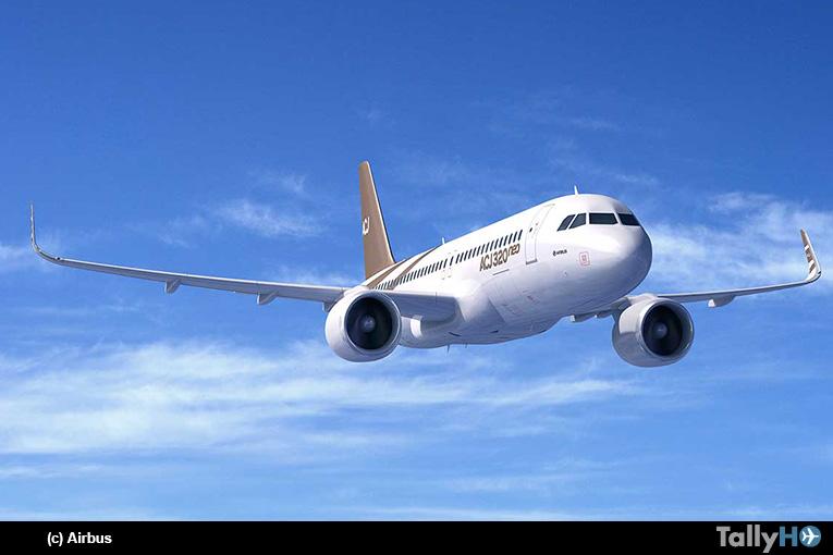 Familia del Airbus ACJ320neo entró en producción