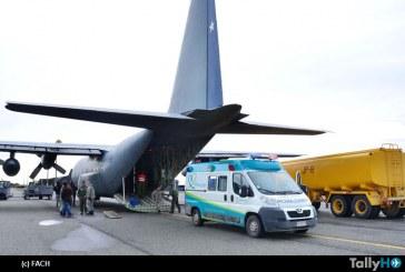 Fuerza Aérea de Chile realizó evacuación aeromédica desde la Antártica