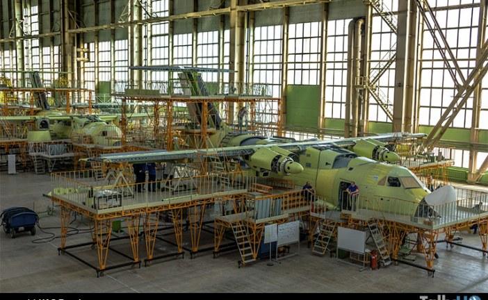 Avances en el desarrollo del avión de transporte Ilyushin IL-112B