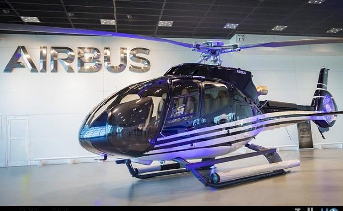 Fue presentado en público el primer ACH130 desde la creación de Airbus Corporate Helicopters