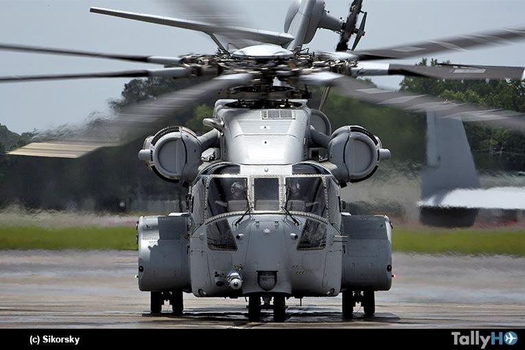 Sikorsky entregó el primer CH-53 King Stallion al Cuerpo de Marines de EEUU