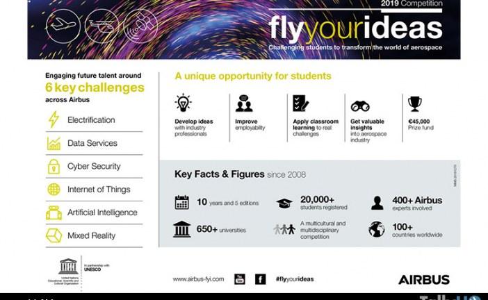 Airbus invita a la siguiente generación de talentos a hacer volar sus propuestas de ideas innovadoras