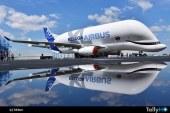 Con original esquema de pintura fue presentado el Airbus BelugaXL