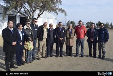 Ceremonia entrega terrenos Aeródromo El Tuquí de Ovalle