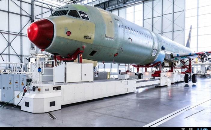 En Hamburgo Airbus inauguró la cuarta línea de producción de la familia A320