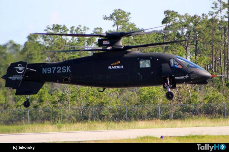 El demostrador S-97 Raider vuelve a volar
