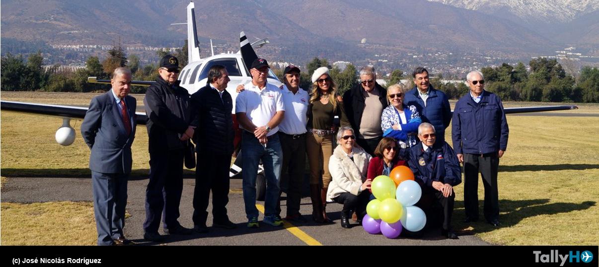 """Llegada a Santiago de la """"Travesía CC-360"""""""