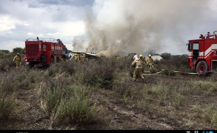 Se accidenta Embraer 190 de Aeromexico Connect en Durango