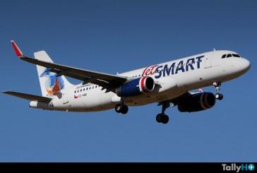 JetSMART transportó un 65% más de pasajeros que el año pasado y se conforma como la aerolínea que más creció en temporada alta